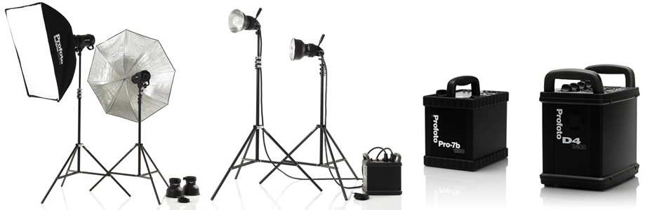 Photostudio Lighting Set